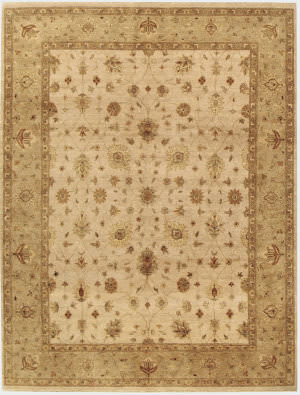 Due Process Amritsar Sultanabad Ivory - Beige Area Rug