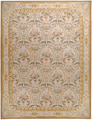Due Process Aubusson Savoie Cream Area Rug