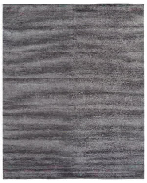 Due Process Barbara Barry Panorama Modern Planes Fig Area Rug