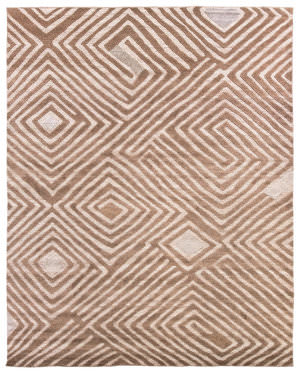 Due Process Congo Akeela Otter Area Rug