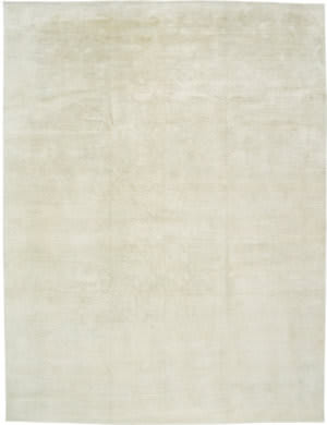 Due Process Elemental Solid Blend Natural Ivory Area Rug