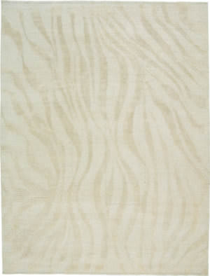 Due Process Elemental Takri Natural Ivory Area Rug