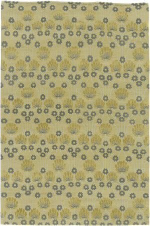 Due Process Empress Arts And Crafts Wheat Area Rug
