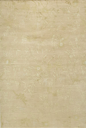 Due Process Empress Spring Blush - Gold Area Rug