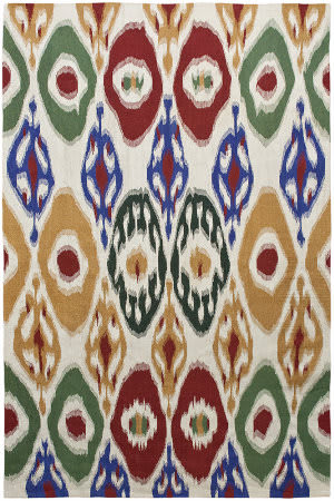 Due Process Flatweave Ikat Ii  Area Rug