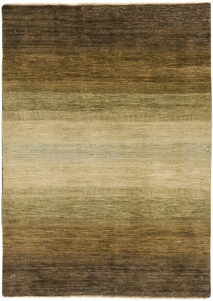 Due Process Gabbeh Replica Light Brown Area Rug