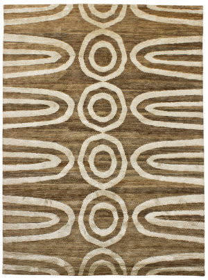 Due Process Ja Brazilia Geo Natural Area Rug