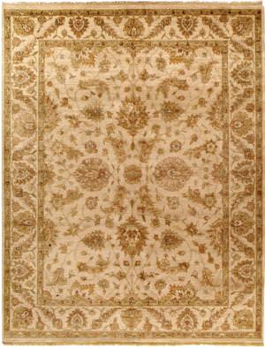 Due Process Jagapatti Polonaise Cream Area Rug