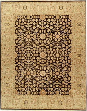 Due Process Jagapatti Meshed Black - Sage Area Rug
