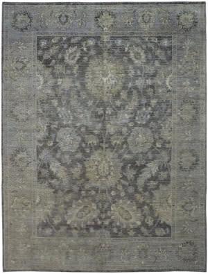 Due Process Jagapatti Vintage Vintage Sultanabad Graphite - Silver Area Rug