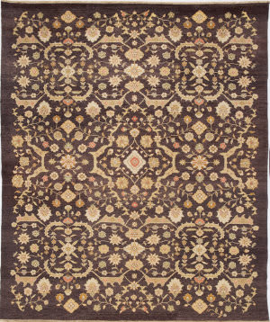 Due Process Jinan Ferrahan Brown Area Rug