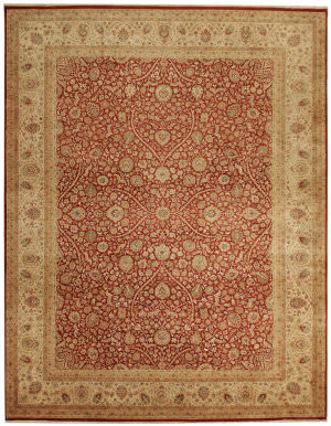 Due Process Kalasha Meshed Rust - Saffron Area Rug
