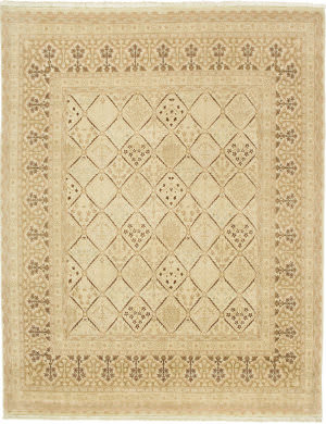 Due Process Kandahar Joshegan Ivory Area Rug