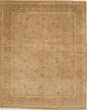 Due Process Khyber Devon Gold-Brown Area Rug