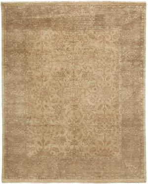 Due Process Khyber Doroksh Cream-Gold Area Rug