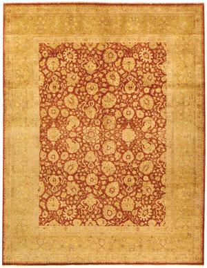 Due Process Khyber Isphahan Rust-Gold Area Rug