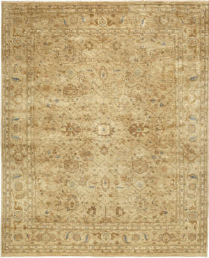 Due Process Khyber Sultanabad Cream Area Rug