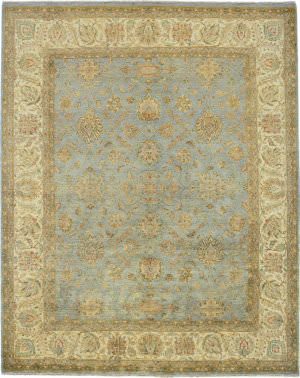 Due Process Khyber Ziegler Opal - Cream Area Rug