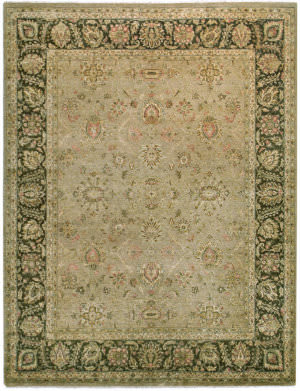 Due Process Khyber Ziegler Taupe - Chestnut Area Rug