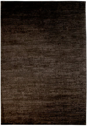 Due Process Lhasa Brickwork Brown Area Rug