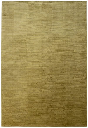 Due Process Lhasa Brickwork Gold Area Rug