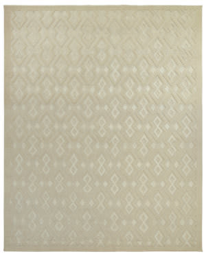 Due Process Lhasa Carlu Beige Area Rug