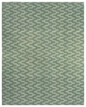 Due Process Lhasa Jagged Sea Area Rug