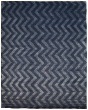 Due Process Lhasa Kerchief Cobalt Area Rug