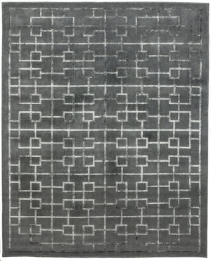 Due Process Lhasa Tolmer Charcoal Area Rug
