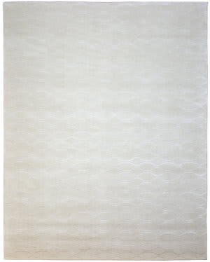 Due Process Lhasa Wave Linen Area Rug