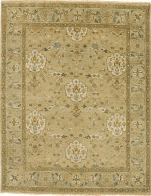 Due Process Mirzapur Shield Beige - Opal Area Rug