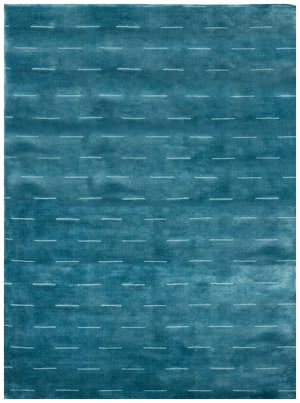 Due Process Modal Dashes Ocean Area Rug