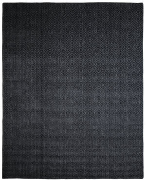 Due Process Modal Empire Charcoal Area Rug
