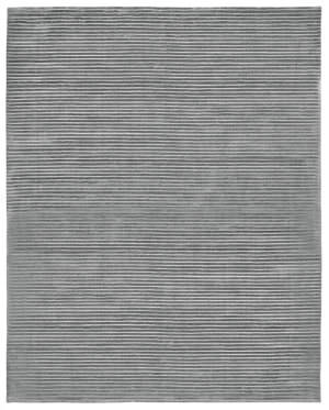 Due Process Modal Lineation Pewter Area Rug