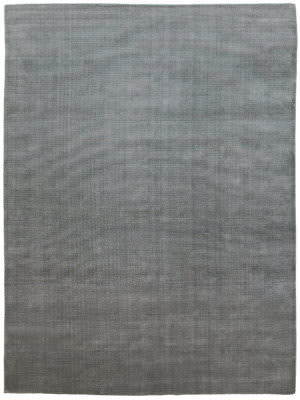 Due Process Modal Striation Striation Wool Stripes Flint Area Rug