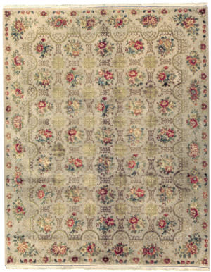 Due Process European Cambridge Oyster Area Rug