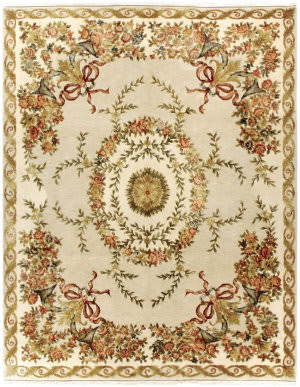 Due Process European Plantation Grey - Ivory Area Rug