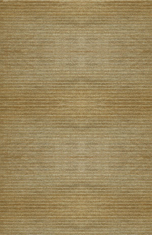 Due Process Nouveau Alternating Stripe Wheat Area Rug