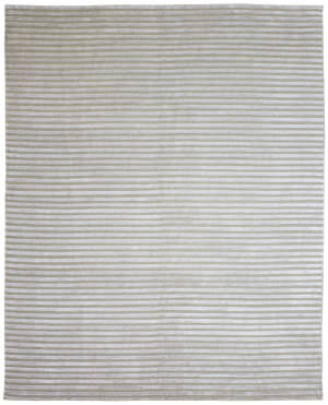 Due Process Nouveau Furrows Cream Area Rug
