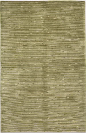 Due Process Nouveau Shimmer Green Area Rug