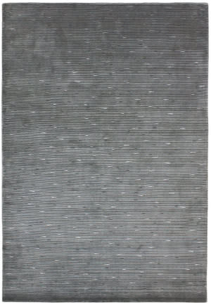 Due Process Nouveau Shimmer Grey Area Rug