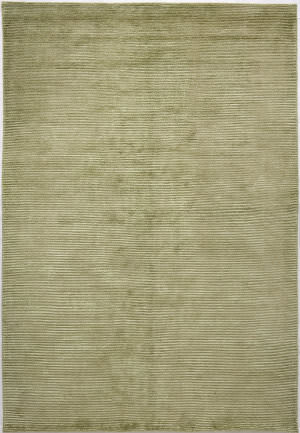 Due Process Nouveau Stripes Olive Area Rug