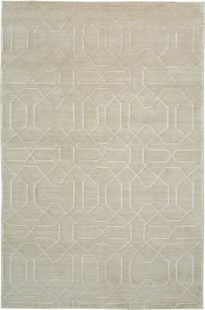 Due Process Nouveau Honey Comb Ivory Area Rug