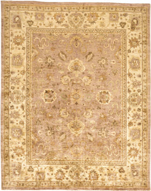 Due Process Peshawar Mogul Rose - Cream Area Rug