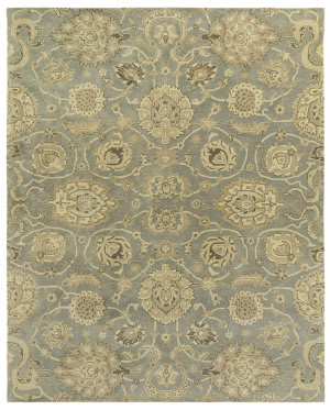 Due Process Ta Jagapatti Fleming Grey Area Rug