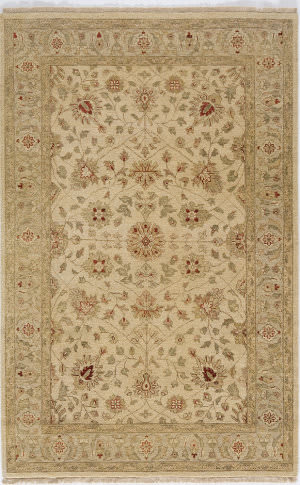 Due Process Thana II Tabriz Sand - Beige Area Rug