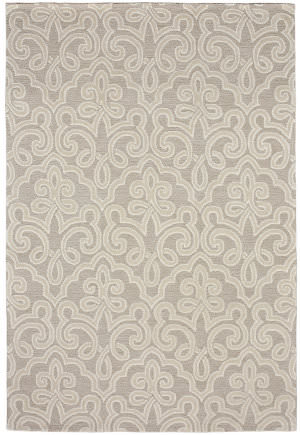 Due Process Tufted Aurore Vellum Area Rug
