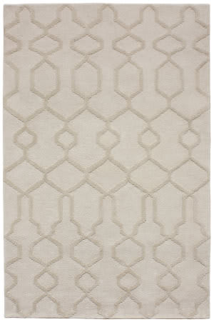 Due Process Tufted Blog Bone Area Rug