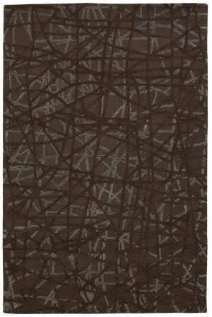 Due Process Tufted Gerard Mocha Area Rug