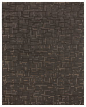 Due Process Century Marshall Dark Grey Area Rug